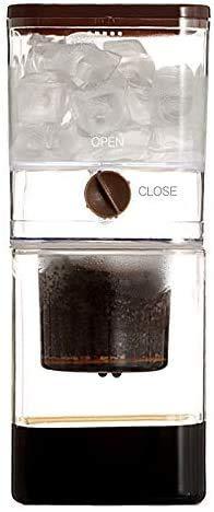 Huishoudelijke Kleine Drip Koude Koffie/thee, ijs koud Brew Koffiezetapparaat eenvoudig aan te passen extern regelventiel gemakkelijk te demonteren en gemakkelijk schoon te maken XIUYU