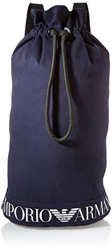 Emporio Armani Swimwear Sack Safari Resort, Saco Mujer, Azul Marino, Einheitsgröße