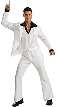 Saturday Night Fever Suit Costume White Standard