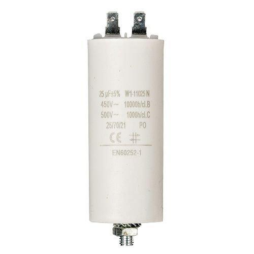 Condensador de arranque para motor electrico 450 VAC (25 uF)