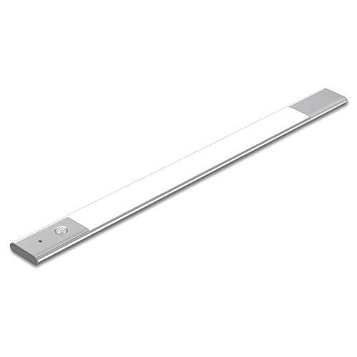 LED Schrankleuchte mit Bewegungsmelder | EZVALO Schranklicht Magnetisch Nachtlicht | 60cm Lichtleiste geeignet für Schrank Kinderzimmer Flur Schlafzimmer Küche Treppe - 4000K