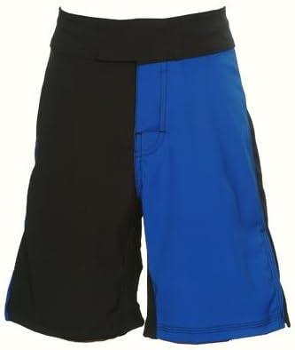 UN92 Boy 2-Tone MMA Fight Shorts - Blue/Black