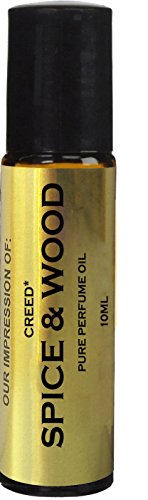 Perfume IMPRESSION of Creed Spice and Wood Oil; 100% Pure No Alcohol (Fragrance VERSION/TYPE; Not Original Brand)