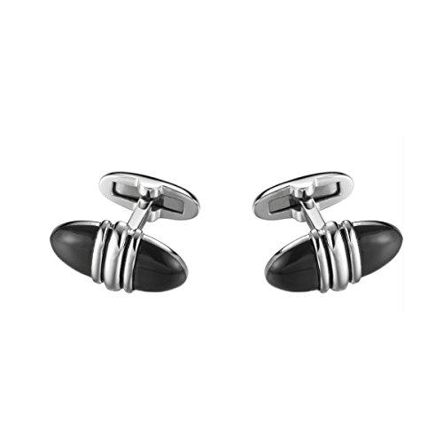 Joop! Jewelry Daniel JPCF90131A000 Boutons de Manchette Argent Sterling rhodiné