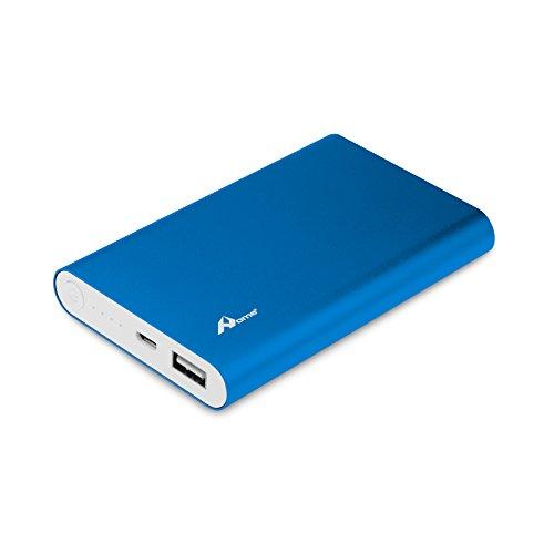 OME Batteria Esterna Portatile 10000mAh USB e Connettore Micro USB Compatibile con iPhone, Samsung e altri dispositivi elettronici