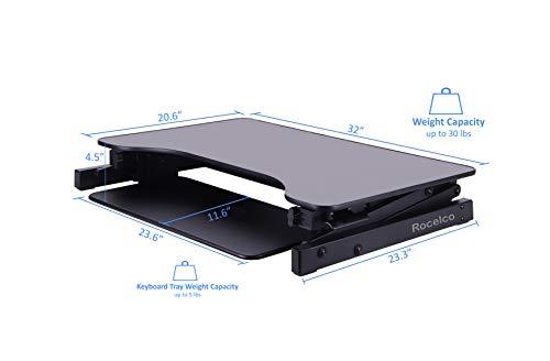 Rocelco Standing Desk Converter