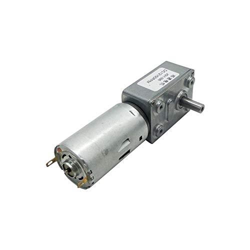 L-Yune,bolt 1pc JGY-395 DC Motor de imán Permanente Turbo Worm Engranado Variable...