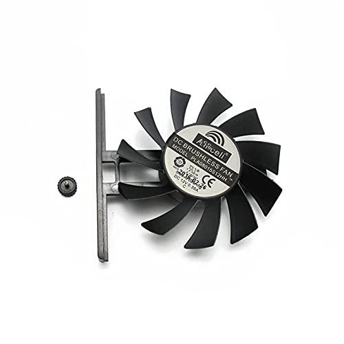 PLA08015S12HH 12V 0.35A GTX970 para GAINWARD GEFORCE GTX 970 970 970 980 Tarjeta De Gráficos Refrigeración Doble Ventilador (Blade Color : 1PCS)