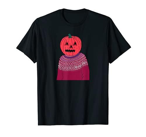 かぼちゃの男 面白い ハロウィン クリスマス プレゼント ギフト Tシャツ