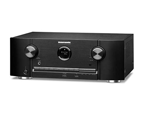 Marantz SR5014 7.2-Kanal AV-Receiver, Hifi Verstärker (Alexa Kompatibel, 8 HDMI Eingänge und 2 Ausgänge, Bluetooth und WLAN, Musikstreaming, Dolby Atmos, AirPlay 2, HEOS Multiroom)