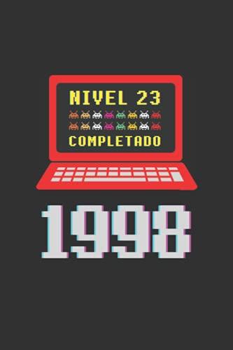 NIVEL 23 COMPLETADO 1998: REGALO DE CUMPLEAÑOS ORIGINAL Y DIVERTIDO. DIARIO, CUADERNO...