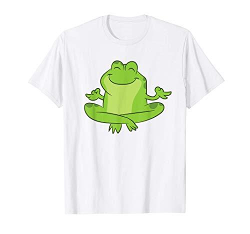 Rana Yoga Rana de la selva de Kambo Medicina Ranas lindas Camiseta
