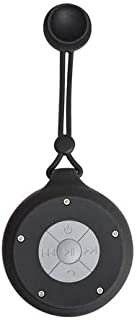 Sylvania Portable Waterproof Bluetooth Shower Speaker with Built-in Microphone, Hanging Rope and Suction Mount