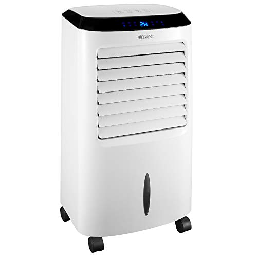 Monzana Mobiles Klimagerät 4in1 Fernbedienung 10 L Tank LED Timer Ventilator Klimaanlage Ionisator Luftbefeuchter Luftkühler