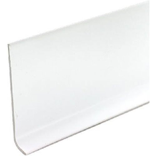 M-D Building Products 75317 4-Inch by 4-Feet Dry Back Vinyl Wall Base, White