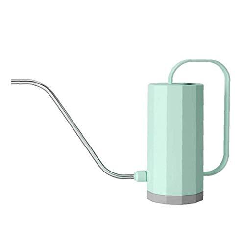 LAANCOO Watering Can, Plastic Long Spout Flower Watering Spray Pot, 1200ml Large Capacity Indoor Sprinkler Pots for Gardening (Green)
