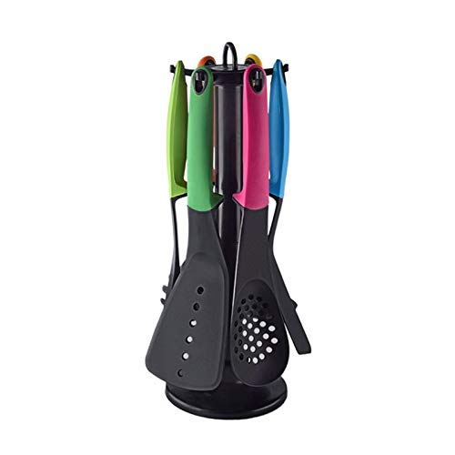 ZXDFG Kitchen Tools Kitchen Tools Cooking Soup Spoon Non-Stick Shovel Special Heat-Resistant Kitchenware 6 Piece Set Gadgets