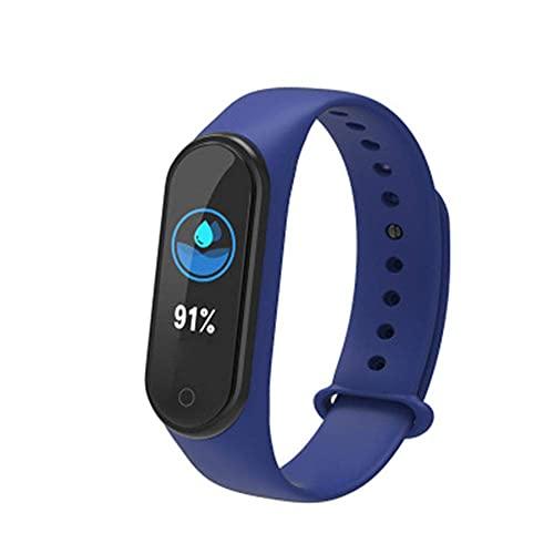 HYLK & reg;Pulsera de Fitness con Monitor de frecuencia cardíaca, rastreadores de Actividad física con Pantalla táctil de 1,3', rastreador de Actividad, podómetro Resistente al Agua IP68, para