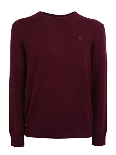 Luxury Fashion | Ralph Lauren Heren 710667378013 Bordeaux Wol Truien | Herfst-winter 19