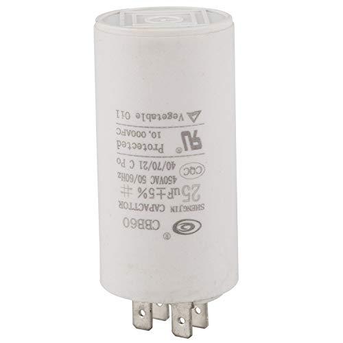Katigan Cbb60 Condensatore Per Motore A Corrente Alternata Da 25Uf 450Vac Per Lavatrice