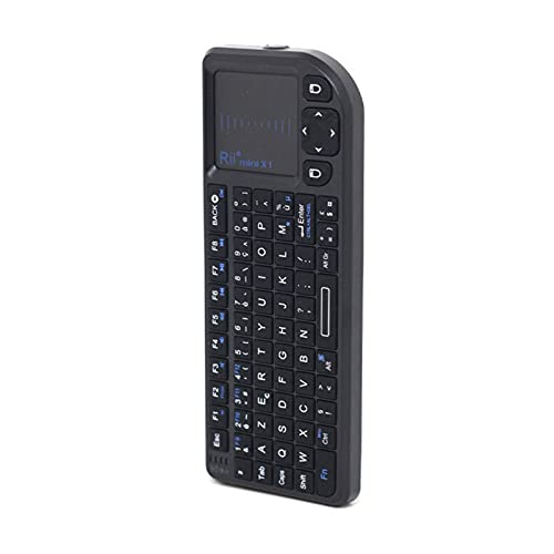 GZA Mini 2.4GHz Wireless Keyboard with TouchPad for Android TV Box/Mini PC/Laptop