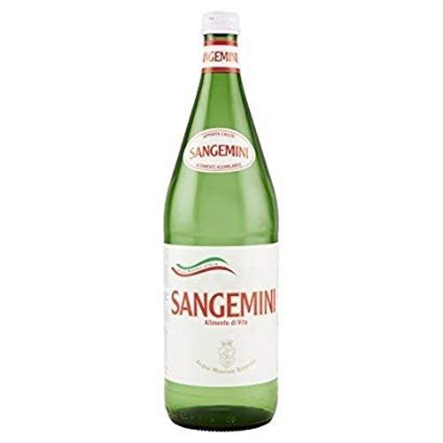 6 Bottiglie ACQUA SANGEMINI NATURALE 1/1 VETRO A PERDERE