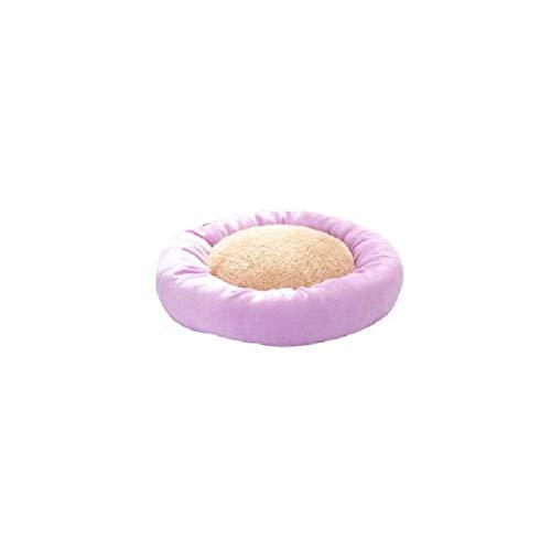 Monbedos hond katten huisdierbed wasbaar hondenbed met rand hondensofa hondenmand hondenbed - blauwe serie