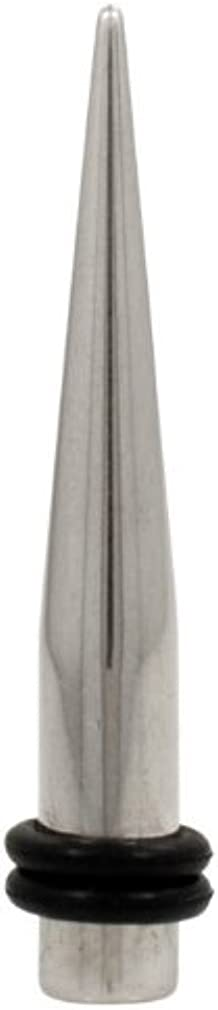 Urban Body Jewelry 0 Gauge (0G - 8mm) Stainless Steel Taper - 1 Piece