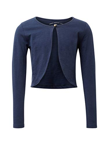 TOM TAILOR Mädchen T-Shirts/Tops Bolero Black iris|Blue,116/122