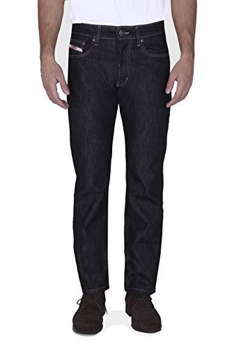 New Caro CP05046 Vro. Black Jeans , Negro ( 00300/Lav. Piedra ) , 48 para Hombre