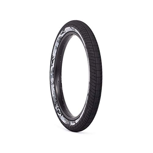 SALTPLUS Sting BMX - Neumático para bicicleta (2,40 pulgadas), color negro y gris
