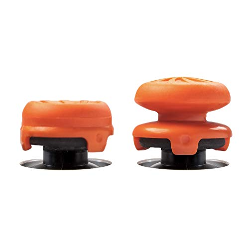 KontrolFreek FPS Freek Vortex for Xbox One Controller | Performance Thumbsticks | 1 High-Rise Convex, 1 Mid-Rise Concave | Orange