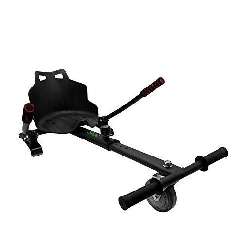 Hiboy Asiento Kart para Patinete Eléctrico, Silla Self Balancing, color Negro