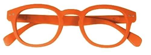 El Charro Occhiali da Lettura Modello Florida Arancione, Diottria +3 - 1 Prodotto