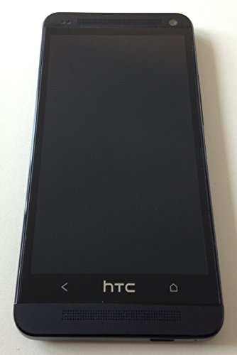 HTC One Smartphone (11,9 cm (4,7 Zoll) Touchscreen, Ultrapixel Kamera, 1,7 GHz, 2 GB RAM, LTE, NFC-fähig, BlinkFeed, BoomSound, MicroSIM, Android OS) schwarz