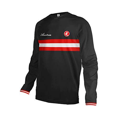Uglyfrog Herren Langarm Mountainbike Downhill Freeride BMX Trikot Shirt MTB Jersey