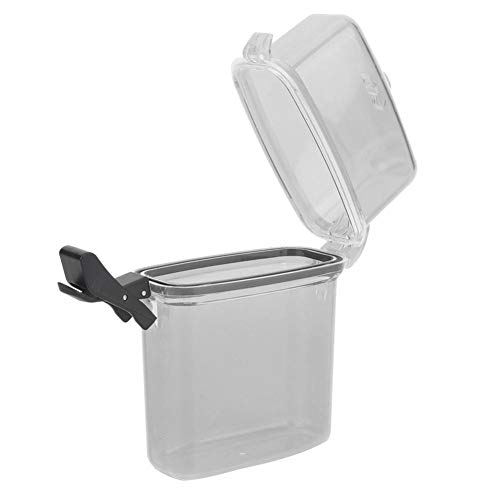 Keenso Caja Impermeable, Caja Seca de plástico 1Pcs Caja de Sellado de Buceo portátil Impermeable para Dispositivos electrónicos(Gris Transparente)