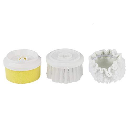 Elektrische Hand-Reinigungsbürste mit 3 Modi für Küche, Badezimmer, Waschbecken und Badewanne 3 Buschkopf