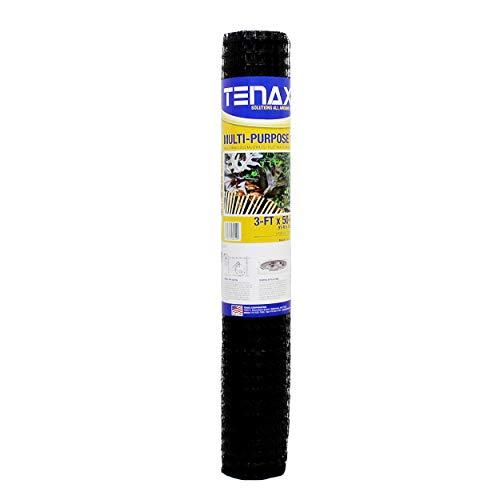 Tenax 60041989 Multi-Purpose Net, 3' x 50', Black