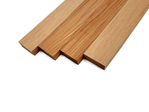 Hickory Lumber Board - 3/4' x 2' (4 Pcs) (3/4' x 2' x 12')