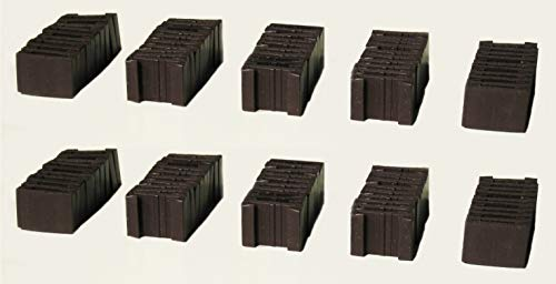 ½ Inch Magnetic Counter Clips (100 Clips) for SPI, Avalon Hill, Europa, and GDW Wargames, Sci-fi Board Games, and Fantasy Board Games from Orisek Industries and Shield Laminating