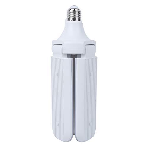 NITRIP Lámpara LED de aplicación Amplia de plástico y Aluminio de aviación Resistente y Duradero Lámpara LED E27(Sanye 45W White)