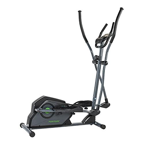 Tunturi Cardio Fit C30 Bicicleta eliptica Fitness/Bici eliptica Fitness/Crosstrainer - Sistema magnetico y computadora de Entrenamiento