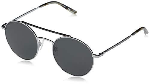 Calvin Klein EYEWEAR CK20131S-014 Gafas, Light Gunmetal/Solid Smoke, 53-21-145 Unisex Adulto