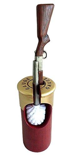 Escobilla de baño en el Western Style de cartucho con diseño de Winchester bar Western de decoración de rifle