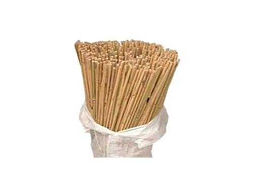 5ft Bamboo Canes Garden Plant Support x20