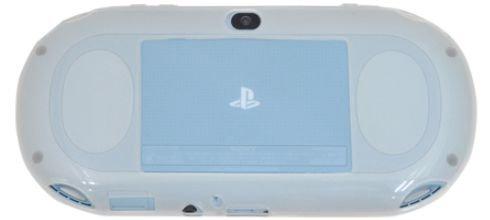 PLATA (プラタ) PSVita PCH-2000 専用 ソフト バック ケース 【 ホワイト 】