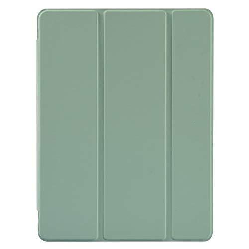 RZL Pad y Tab Fundas para iPad 7ª generación, Estuche de Silicona Suave con Soporte de lápiz para iPad Pro 10.5 Air 3 10.5 para iPad 10.2 2020 2019 (Color : Matcha Green)
