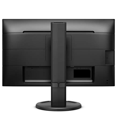 Philips 243B9 - 24 Zoll FHD USB-C Docking Monitor, höhenverstellbar (1920x1080, 75 Hz, VGA, HDMI, DisplayPort, USB-C, USB Hub) schwarz