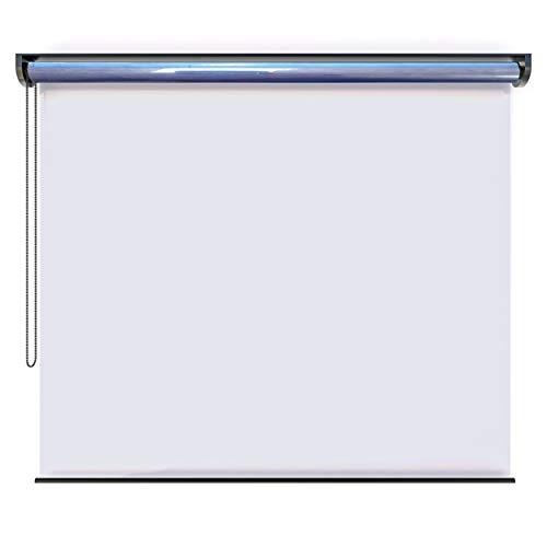 EB ESTORES BARATOS Mampara Protectora Enrollable de PVC. Transparente e Incolora. Fabricación a su Medida Desde 40 a 186 cm de Ancho